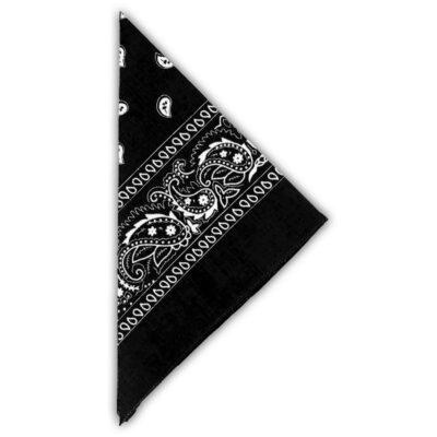 musta bandana kasvosuoja