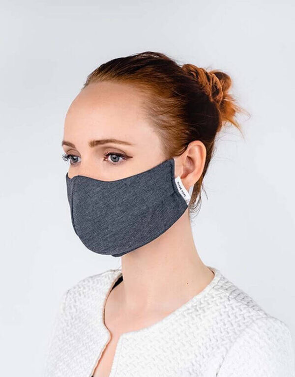 globe hope kuitukangas maski harmaa