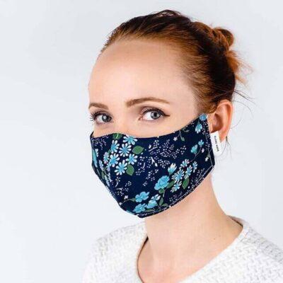 globe hope kuitukangas maski sininen