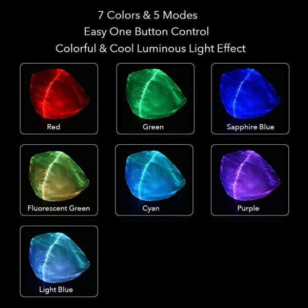LED kasvomaskit ja kaikki 7 värivaihtoehtoa
